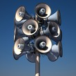 loudspeakers 3d illustration