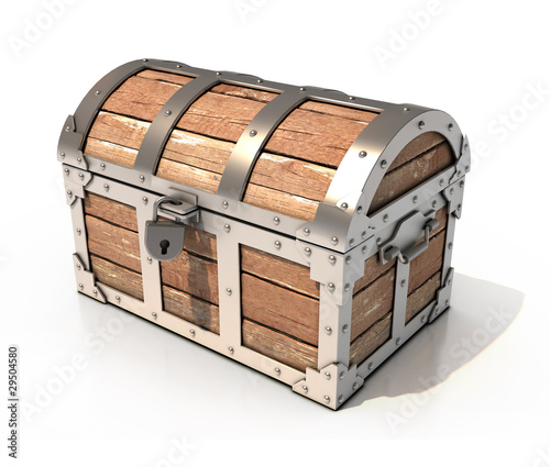 chest 3d illustration