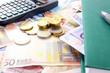 Geld Taschenrechner Buch