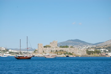 Boats in Port Bodrum