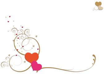 cœurs arabesques