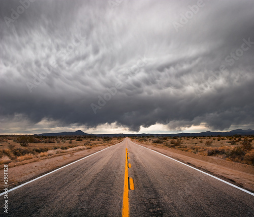 Stormy Road - 29511128