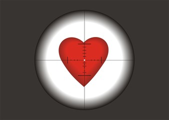 heart in gunpoint