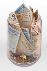 tarro + dinero vertical