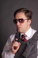 The man with a revolver