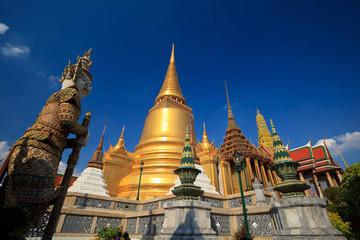 Wat phra kaew, Grand palace, Bangkok, Thailand