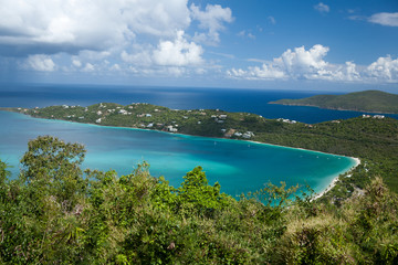 Magens Bay (St.Thomas, U.S.Virgin Islands).