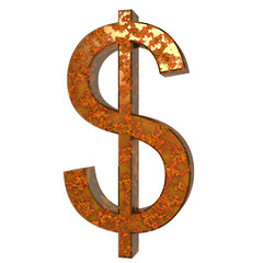 Dollar Rostig