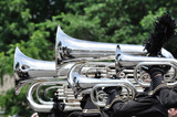 Playing Marching Tubas and Baritones in Parade