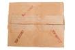 Grungy Old Cardboard Box TOP SECRET Peeling Tape