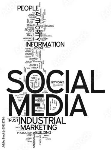 "Word Cloud ""Social Media"""