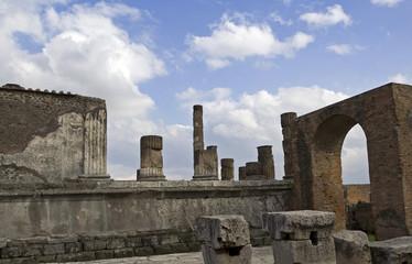 ruines de pompei
