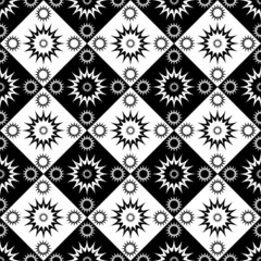 Seamless decorative checked pattern.