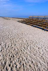 benches near the sea