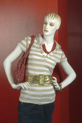 Maniquíes  con vestido   de mujer, maniquís con vestido de mujer