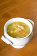 Bowl of Homemade Chicken Soup