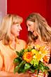 Muttertag oder Geburtstag – Blumen und Frauen