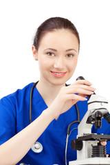 woman doctor in uniform