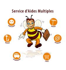 logo, services à domicile