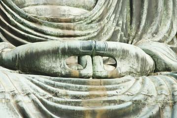 hand japanese buddha statue