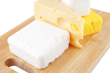 some types of cheese