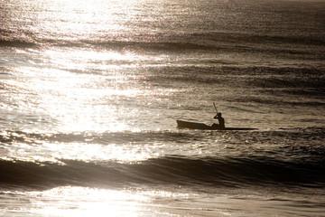 Beach Kayaking