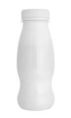 white bottle container milk yoghurt