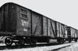 Leinwandbild Motiv Holocaust und Deportation