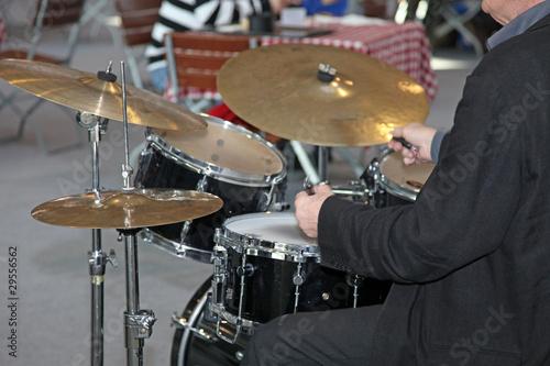 Keuken foto achterwand Antwerpen Schlagzeuger