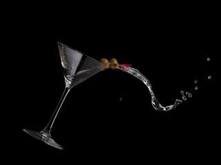 Martini Spilling