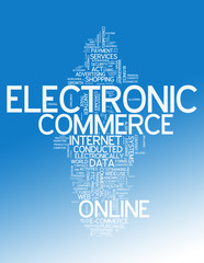 "Word Cloud ""E-Commerce"""