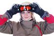 Wintersportlerin