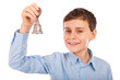 Child ringing a bell