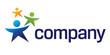 Happy kids – logo for nonprofit organization