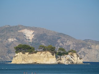 Zakinthos island view