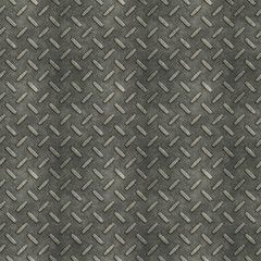 Seamless metal diamond plate