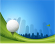 golf background illustration