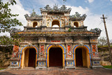 Entrance of Citadel, Hue, Vietnam.
