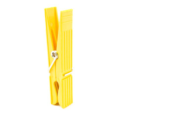 Yellow Clothespin