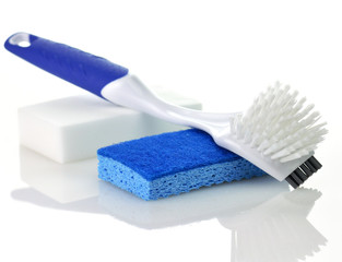 plastic brush for kitchen