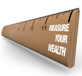 Ruler - Measure Your Wealth poster