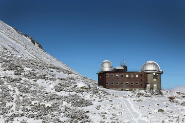 high mountains observatory