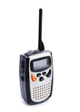 Portable walkie talkie radio poster