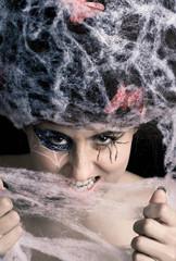 spider makeup