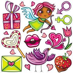 Valentine's day set (part 1)