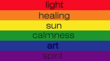 Gay flag with description