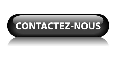 """Bouton Web """"CONTACTEZ-NOUS"""" (contacter service clients support)"""
