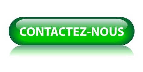 """Bouton Web """"CONTACTEZ-NOUS"""" (service clients contact contacter)"""