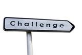 Panneau directionnel - Challenge poster