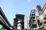 steel enterprise production equipment poster
